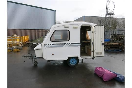 A Freedom Microlite Sport 3 berthMicro Caravan; weighs approx ...