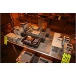 Lot of Assorted Allen Bradley Electronics, Includes Allen Bradley PanelView 600, Allen Bradley 6-