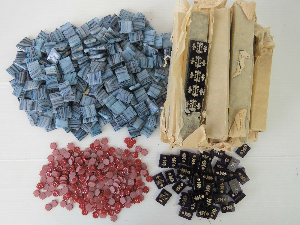 Lot 118 - A large quantity of un-used vintage glass jewellery making beads, some within original packaging,