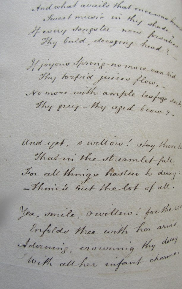 Lot 857 - FISHER Paul Hawkins - A Hand written book of poems by Paul Hawkins Fisher (author of notes and