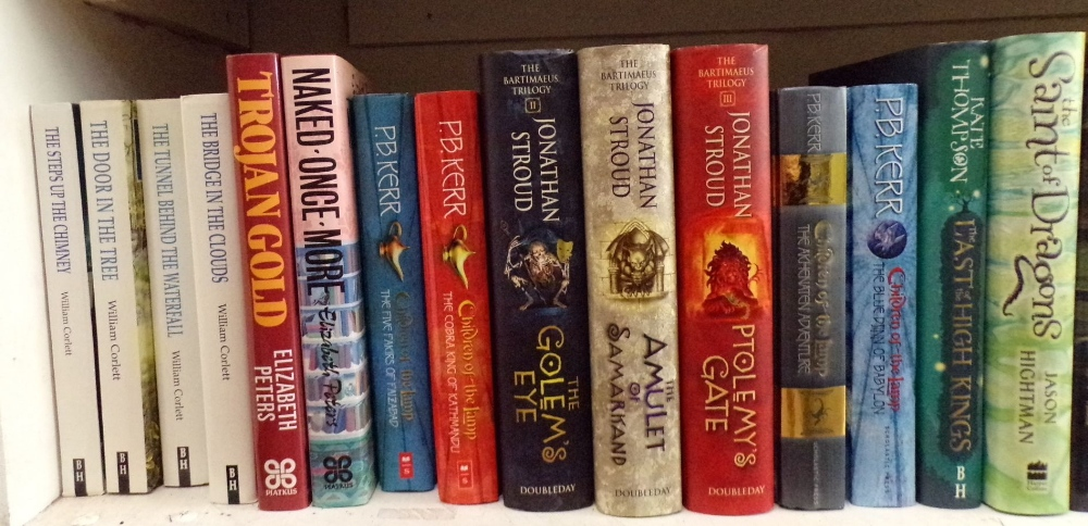 Lot 804 - An extensive collection of fantasy inspired books including The four Inheritance Cycle titles by