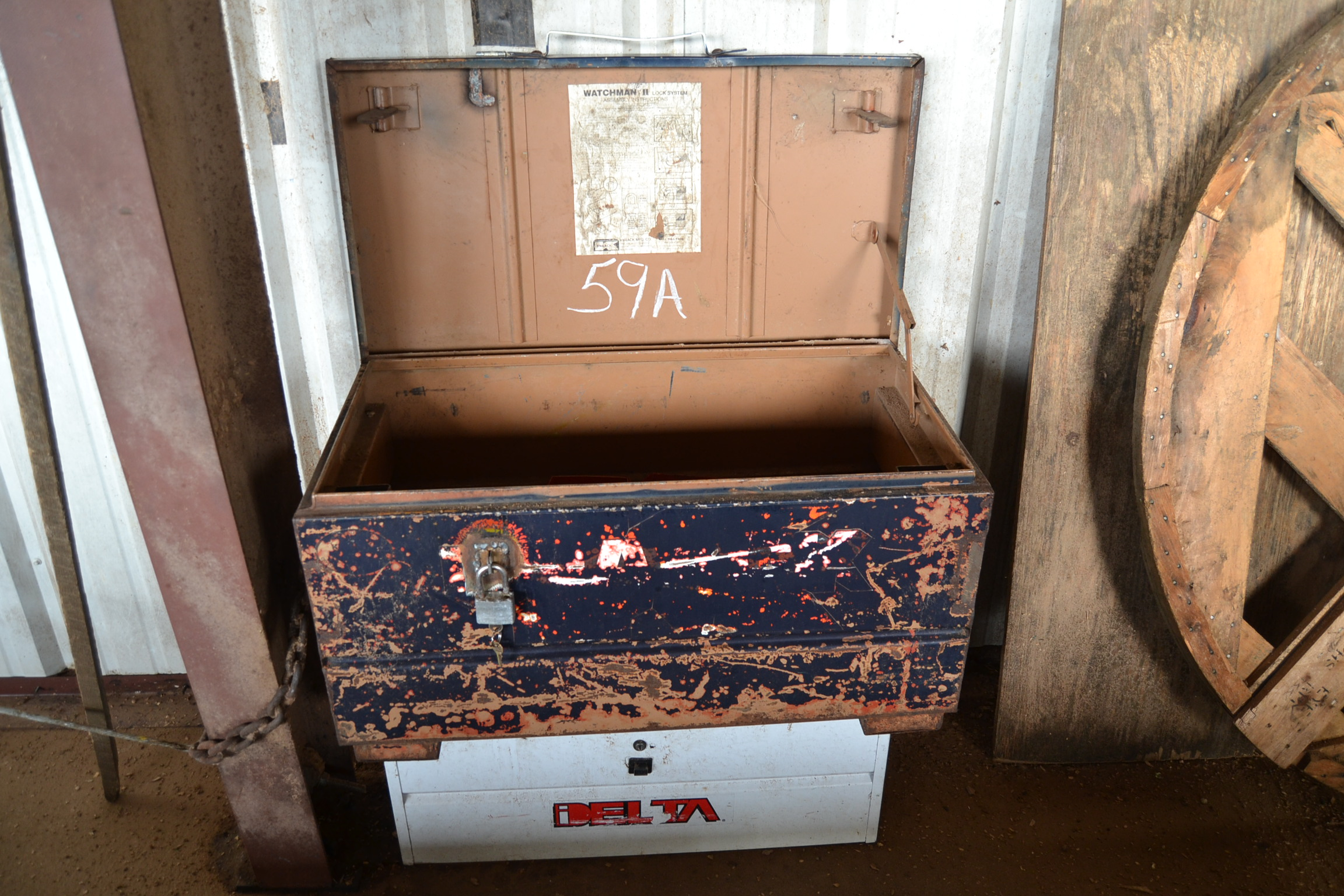 Lot 59A - (2) TOOL BOXES
