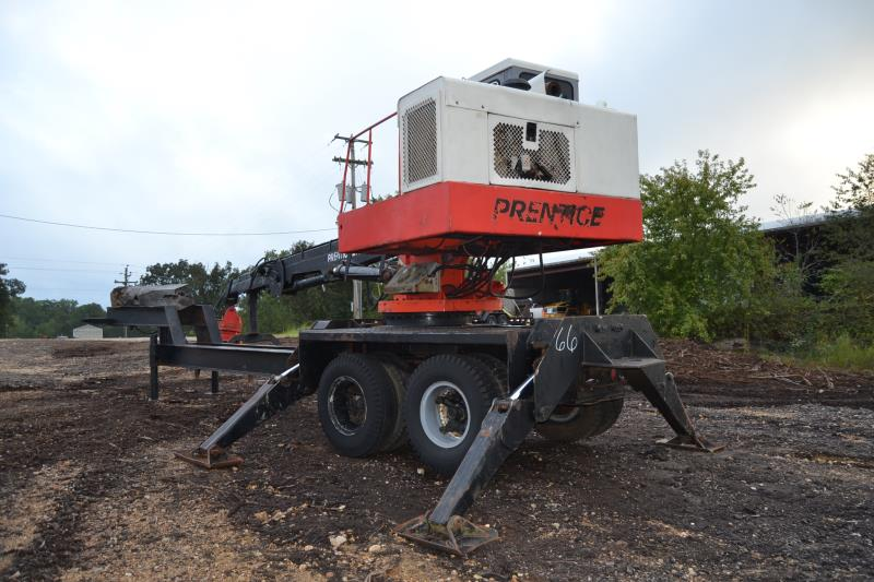 Lot 66 - PRENTICE 210D KNUCKLE BOOM LOADER W/CONTINUOUS GRAPPLE; W/CUMMINS ENGINE; W/MOUNTED ON TANDEM AXLE