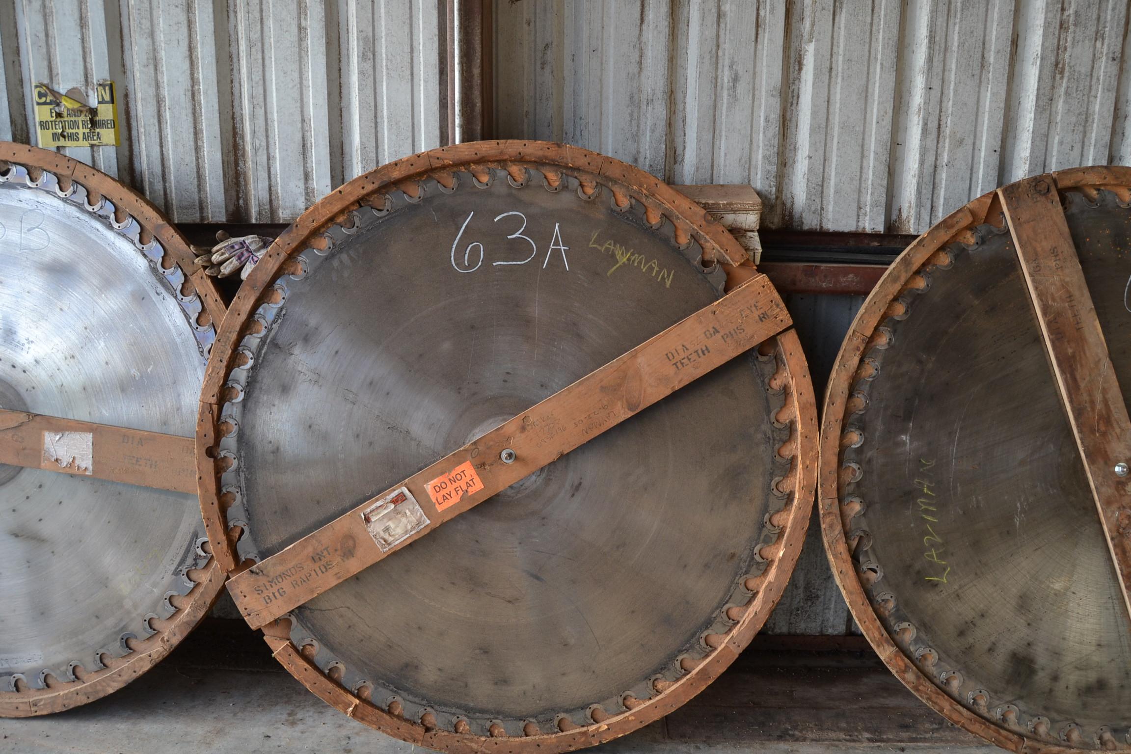 """Lot 63A - 56"""" CIRCLE SAW"""
