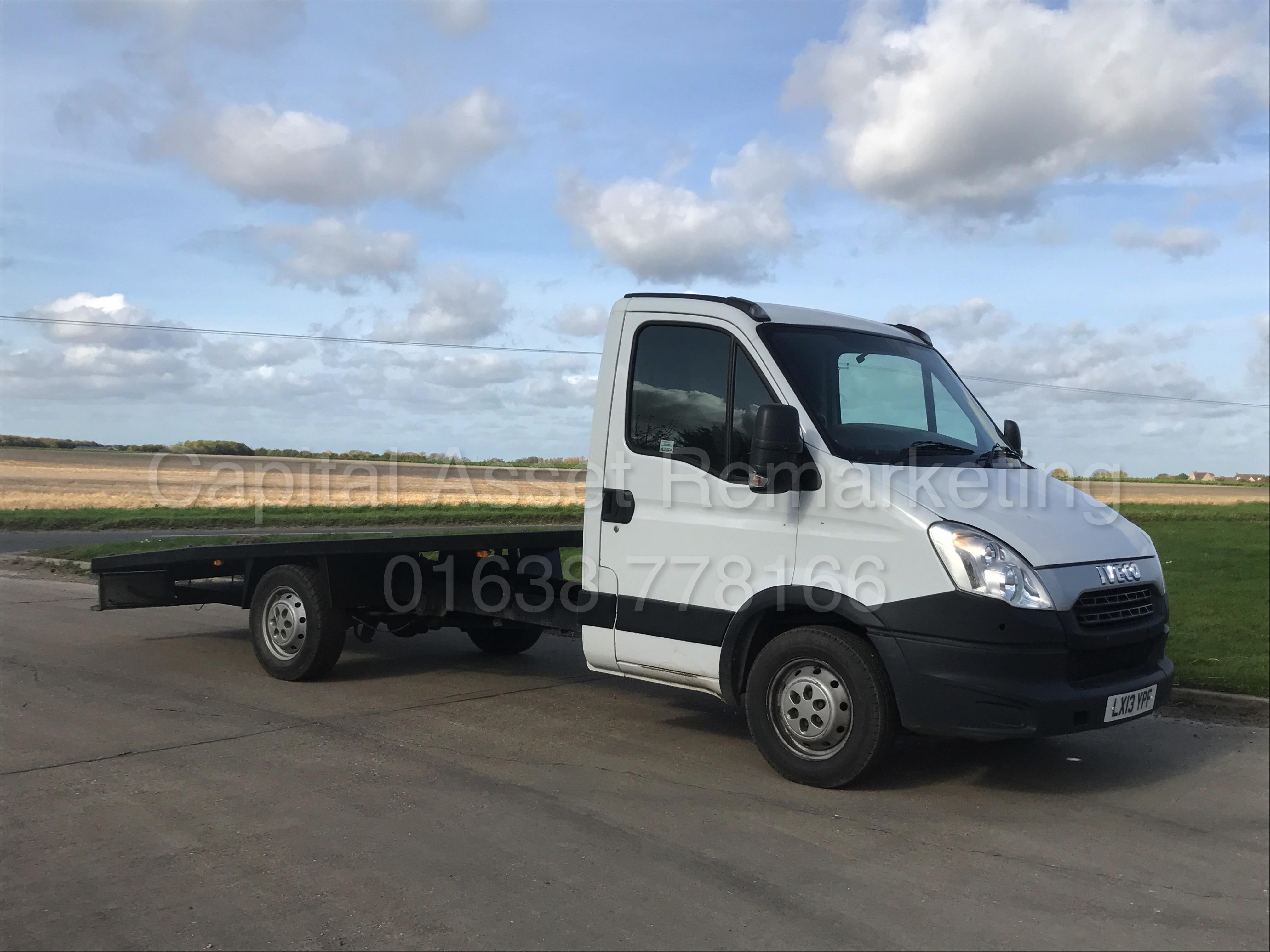 iveco daily 35s11 09 07 2013  u0026 39 13 reg lwb - recovery truck 2287cc  u0026 39 hpi - diesel u0026 39  110 bhp