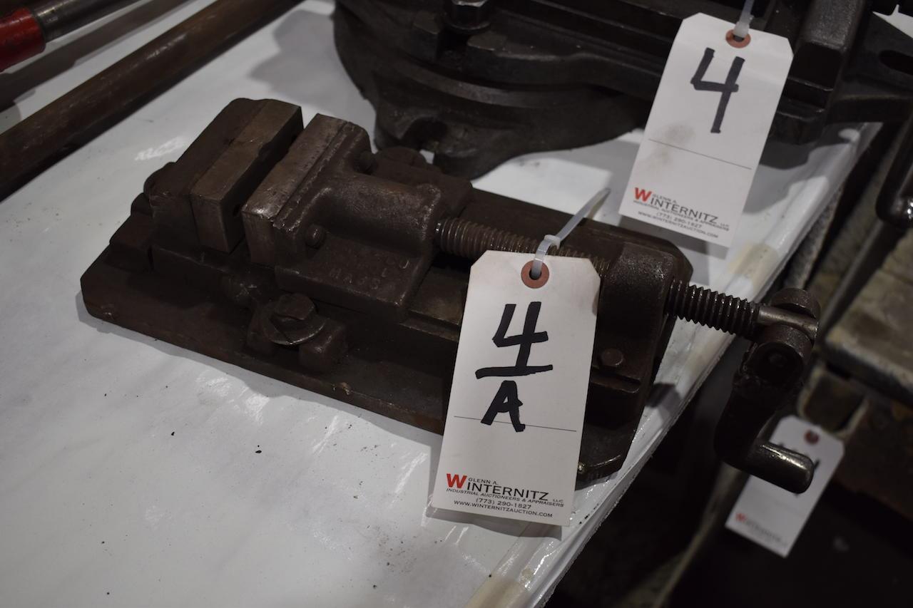 Lot 4A - 3-1/2 in. Machine Vise