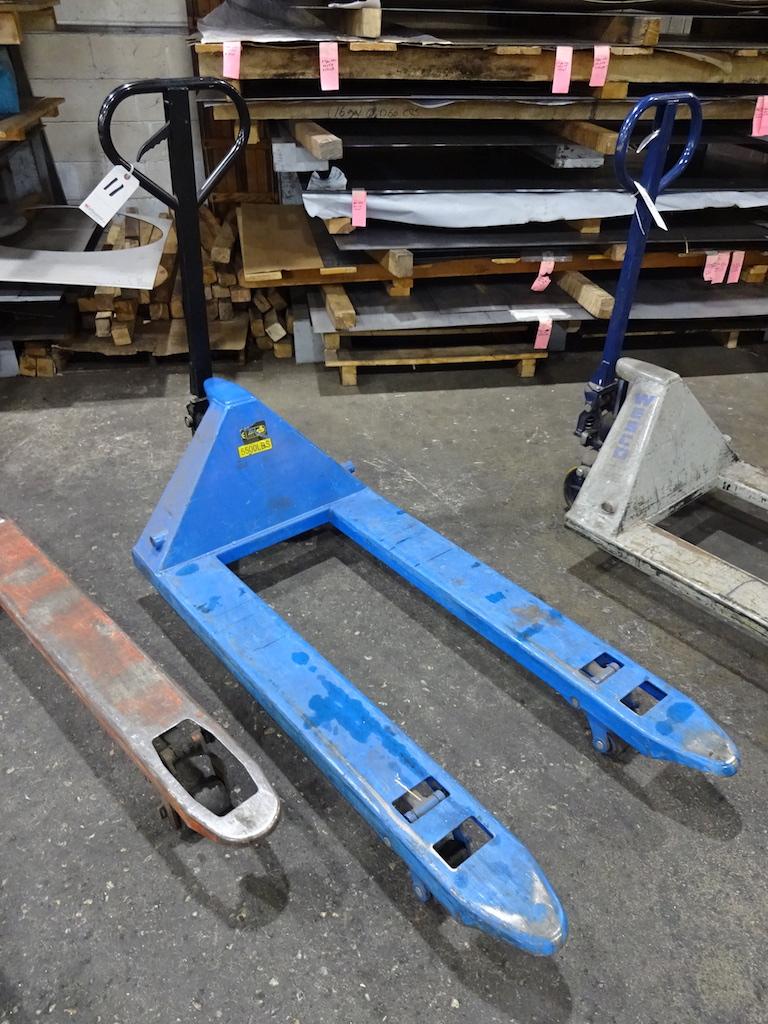 Lot 11 - 5500 lb. Hydraulic Pallet Jack, 48 in. Forks