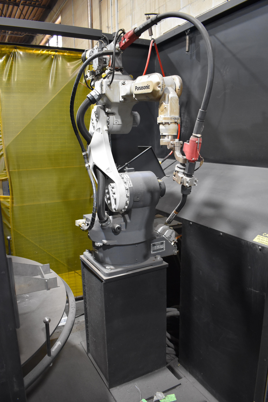 Lot 51 - Panasonic Model PA55 Performarc 2-Station Robotic Welder, S/N J0936 (2008), Panasonic Model YA-1R