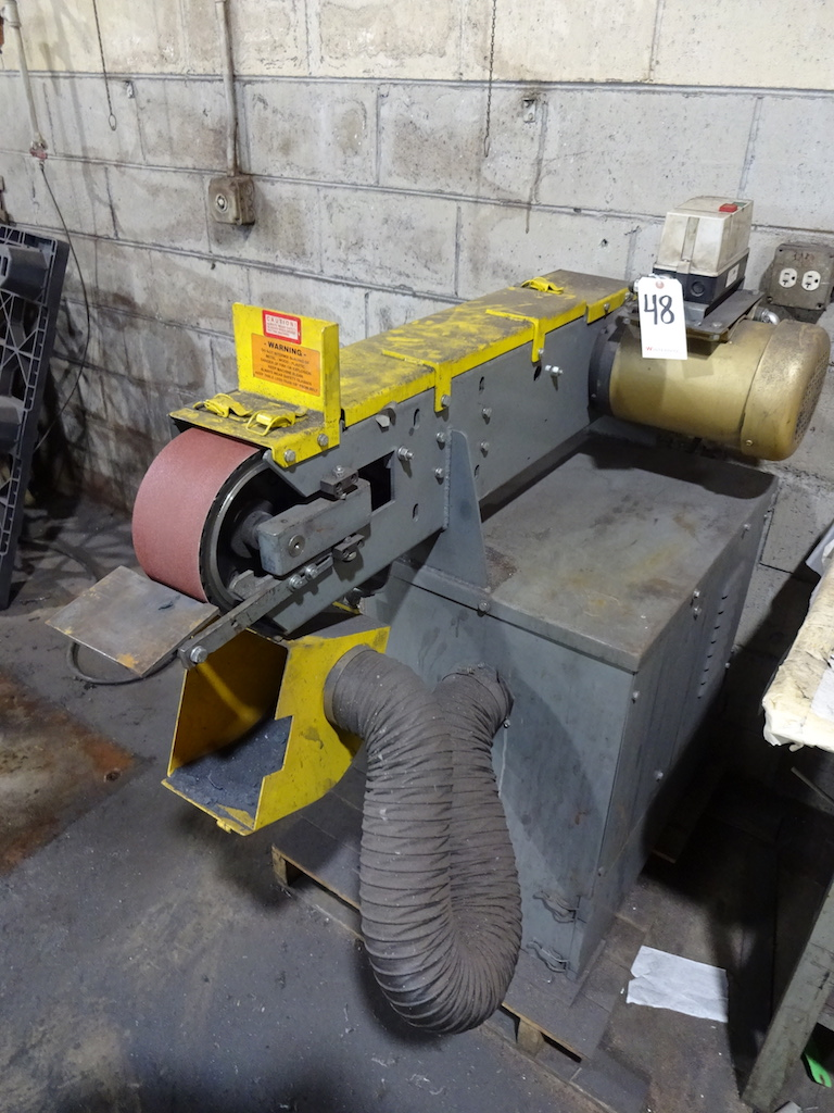 Lot 48 - Kalamazoo 4 in. Belt Sander/Grinder