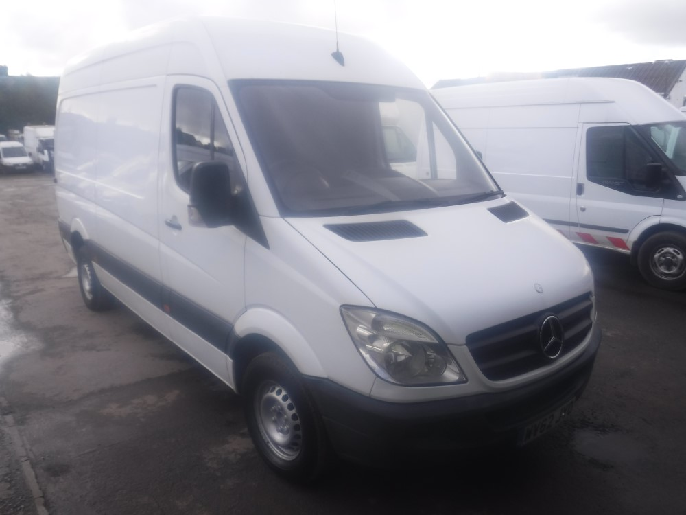 Lot 16 - 62 reg MERCEDES SPRINTER 313 CDI MWB, 1ST REG 12/12, 143014M NOT WARRANTED, V5 HERE, 2 FORMER