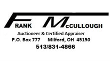 Frank McCullough, Auctioneer & Certified Appraiser