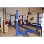 Automotech AS 6640 Four Poster Alignment Lift 4000kg Capacity with 2500kg Rolling Jack Beam &