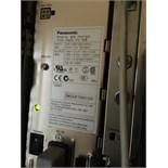 Panasonic KX - TDE200 IP PBX, with PSLP 1433 Power Supply, Serial No. OKCUF700103 Digital Phone