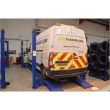 Automotech AS 6640 Four Poster Alignment Lift 4000kg Capacity with 2500kg Rolling Jack Beam.