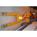 Chadwick CH2000 Hydraulic Pallet Truck (Located In Minworth, Birmingham B76. Collection on 28th
