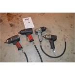 """4: Various 1/2"""" Impact Drivers Comprising 2 Aeropro, 1 SIP & 1 IR Titanium (Located In Minworth,"""