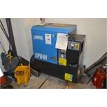 ABAC Receiver Mounted Air Compressor Type Spinn.E1110 270 Product NR 4152008073 Serial No. CAI682250