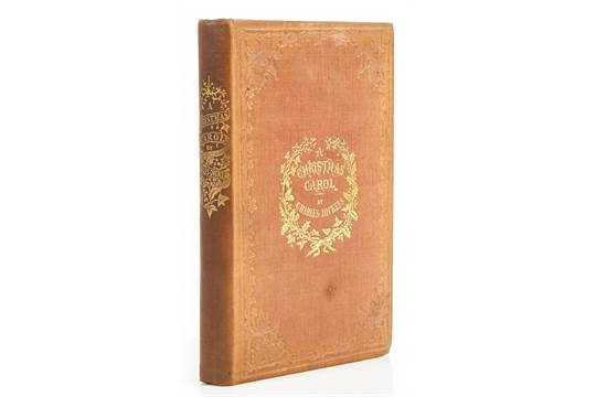 auction date - A Christmas Carol First Edition