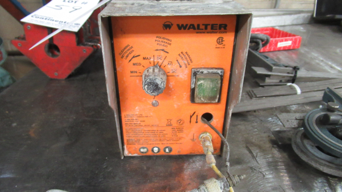 WALTER ELECTRIC MINI SURFOX WELD CLEANING UNIT - Image 2 of 2