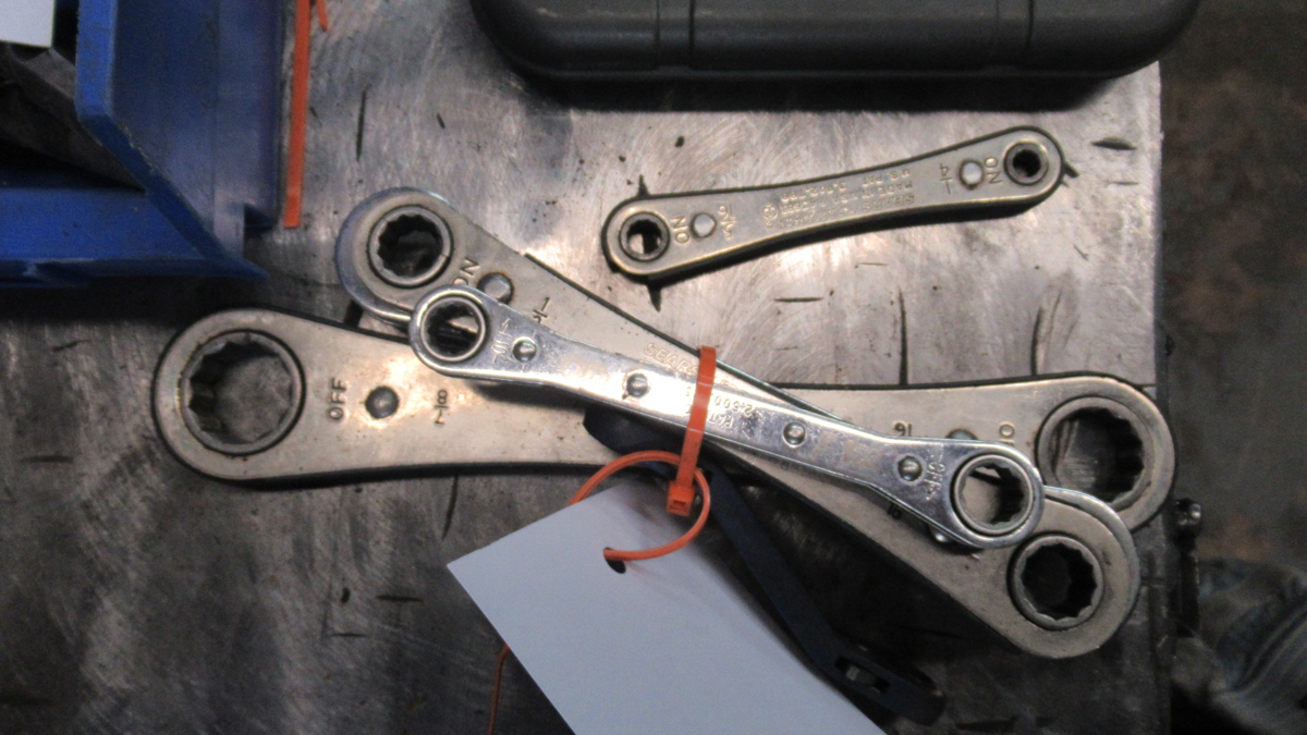 Lot 6 - LOT OF RATCHET WRENCHS
