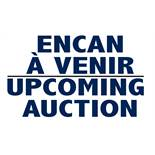 UPCOMING AUCTION - ENCAN À VENIR: RIAL #3 - FEBRUARY 4 / 4 FEVRIER WWW.CONTINENTALAUCTIONEERS.COM