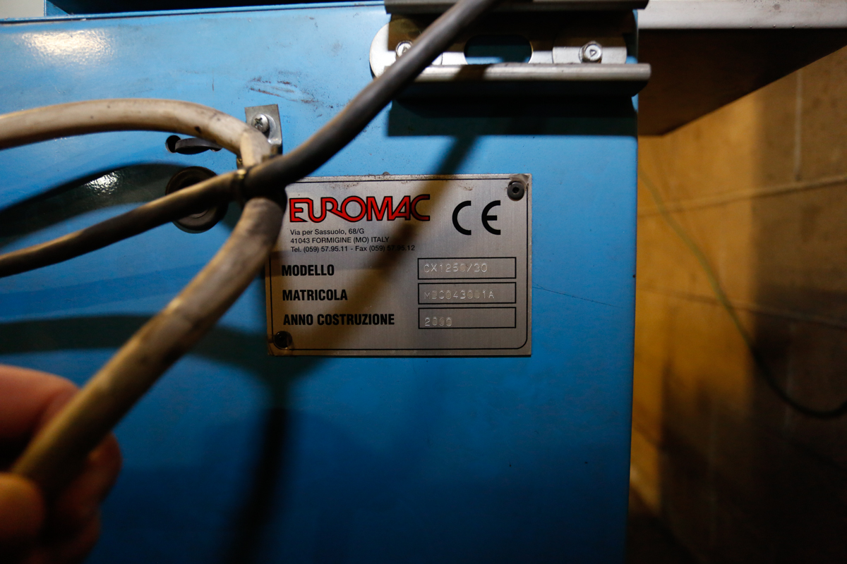 Lot 106 - (2000) EURO-MAC CX1250/30, FABRICATOR PUNCH, 72'' X 84'' TABLE