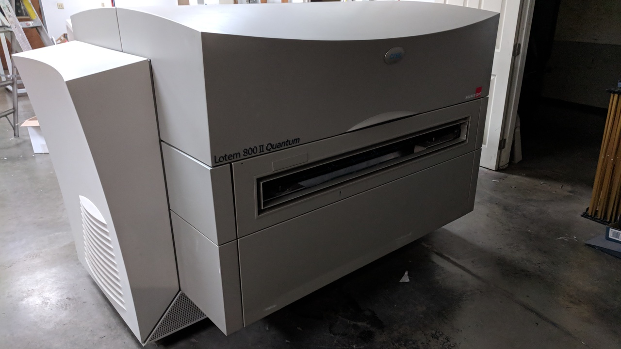 Lot 73 - Printing Press-FOR PARTS