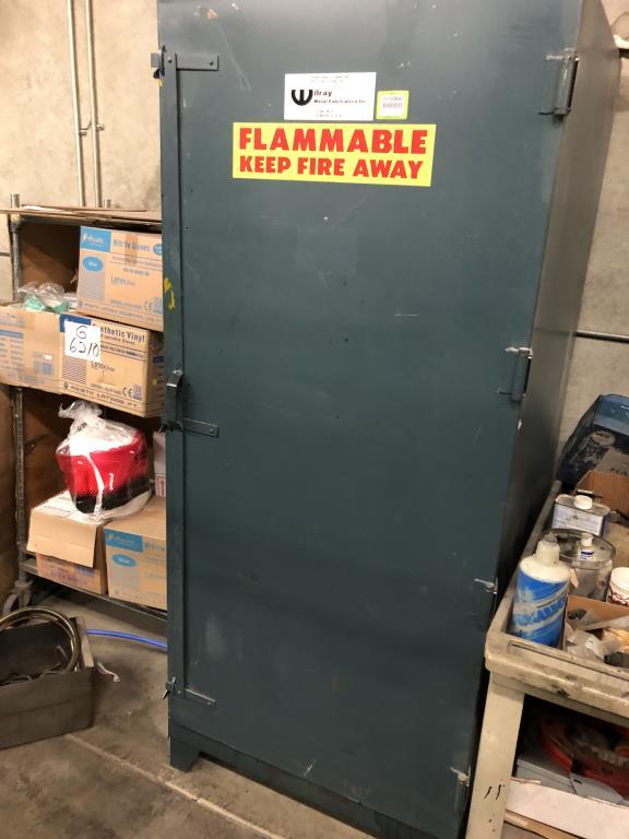 Lot 71 - Flammable Liquid Storage Cabinet