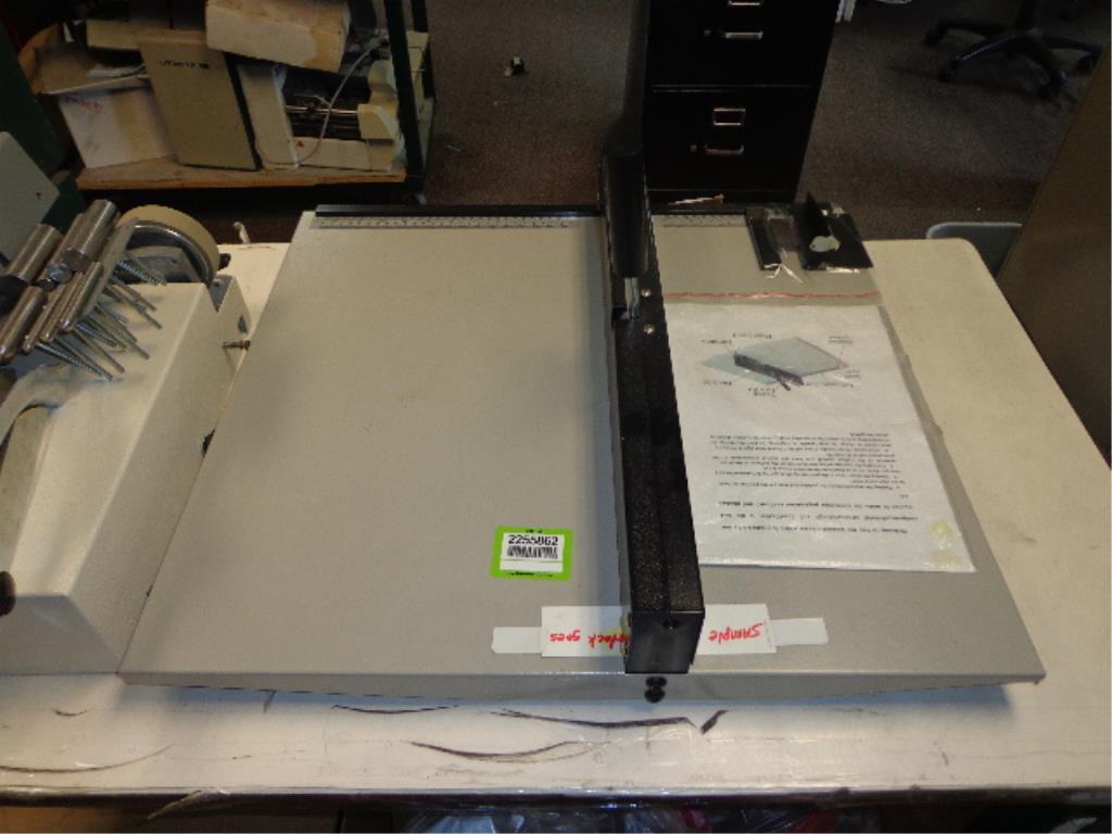 Manual Paper Creaser