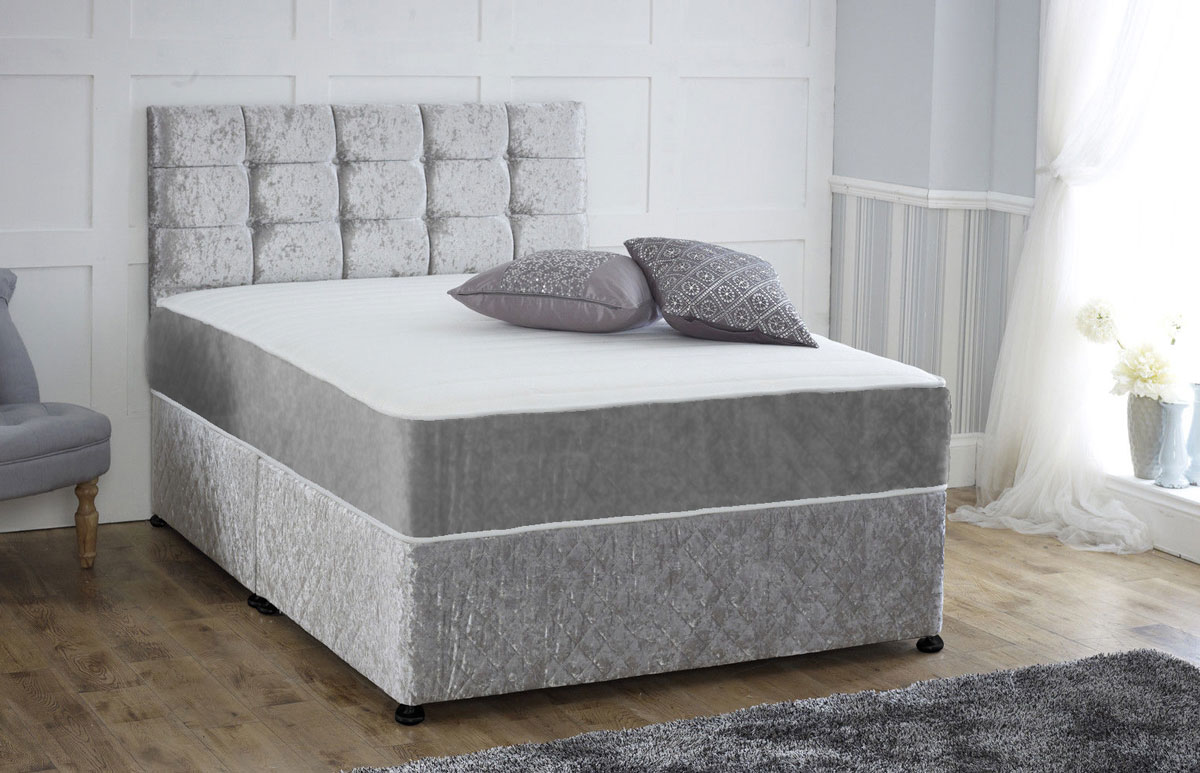 Brand new direct from the manufacturers double pocket for Memory foam double divan bed sale