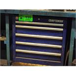 CRAFTSMAN 5 DRAWER TOOL BOX