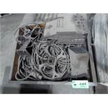 LOT OF WELDING SUPPLIES, SPARE PARTS & CABLES AND WELDING WIRE