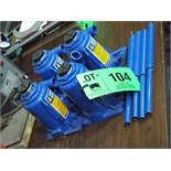LOT/ 12 TON CAPACITY LOW PROFILE BOTTLE JACKS