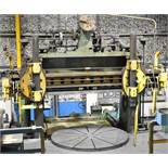 "NILES TWIN RAM VERTICAL BORING MILL WITH 99"" DIAMETER TABLE"