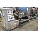 "MAZAK GAP BED ENGINE LATHE WITH 20"" SWING OVER BED, 126"" BETWEEN CENTERS"