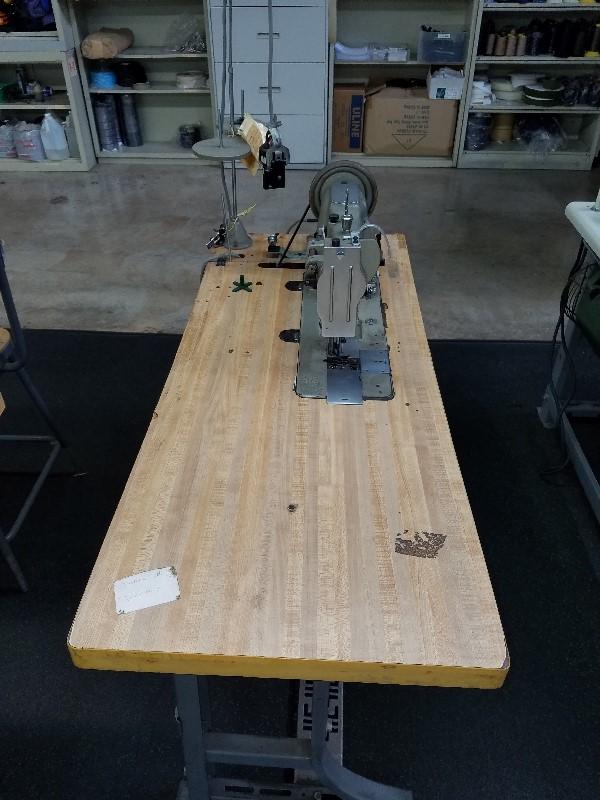 dual needle sewing machine