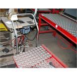 Scissor type Die Lift Cart with ball bearing top