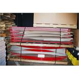 Lot of approximately 1500 Flex Bars, curved high carbon steel bars