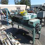 Artos Engineering Model CS-9-AT Automatic Wire Cutter Machine S/N: 23794 w/ Conveyors and Presses, l