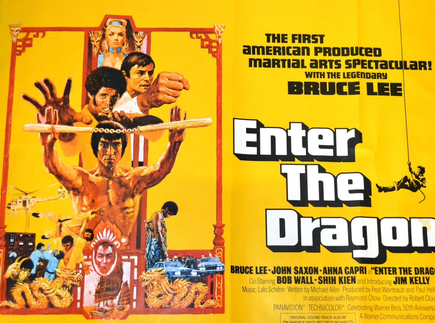 Two UK Quad Martial Arts Posters, comprising Bruce Lee in ...
