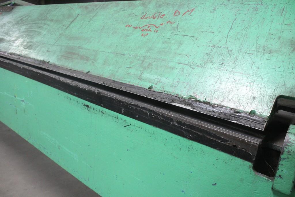 Wysong Model 168-22 Apron Brake, Serial Number: HB5-267 - 14' x 22 ga Capacity - Image 5 of 6