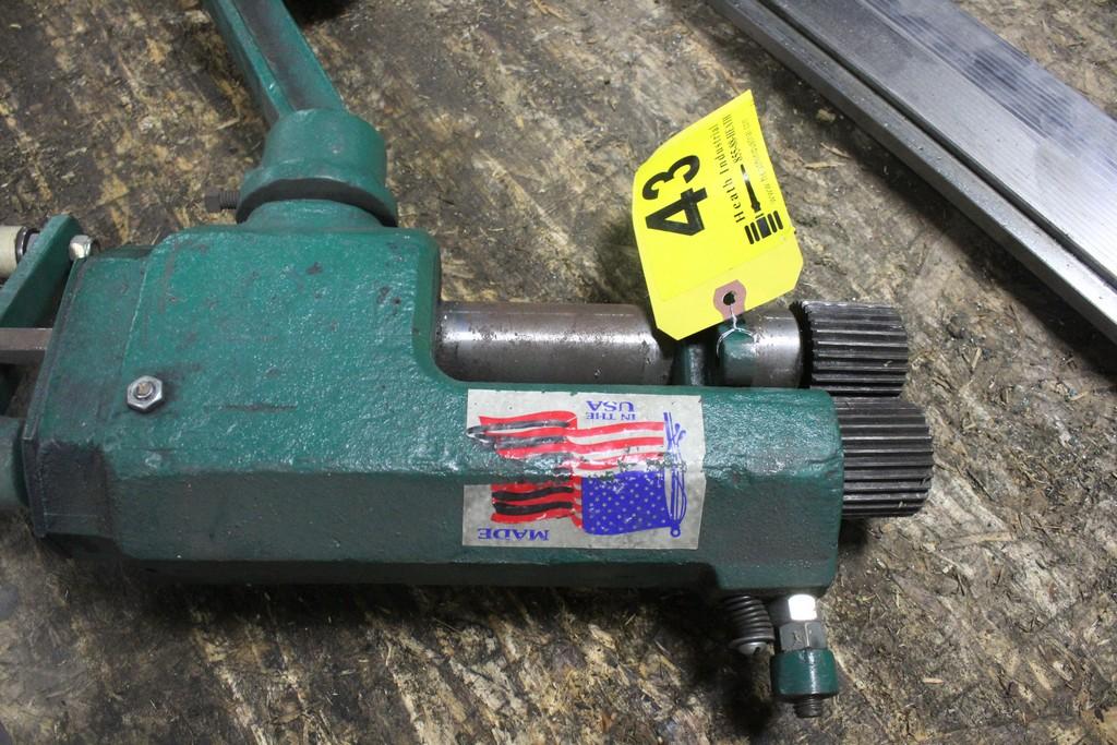 "National Bench Model Crimper - 2"" Die Width - 6"" Throat, Serial Number: NA - Image 2 of 2"