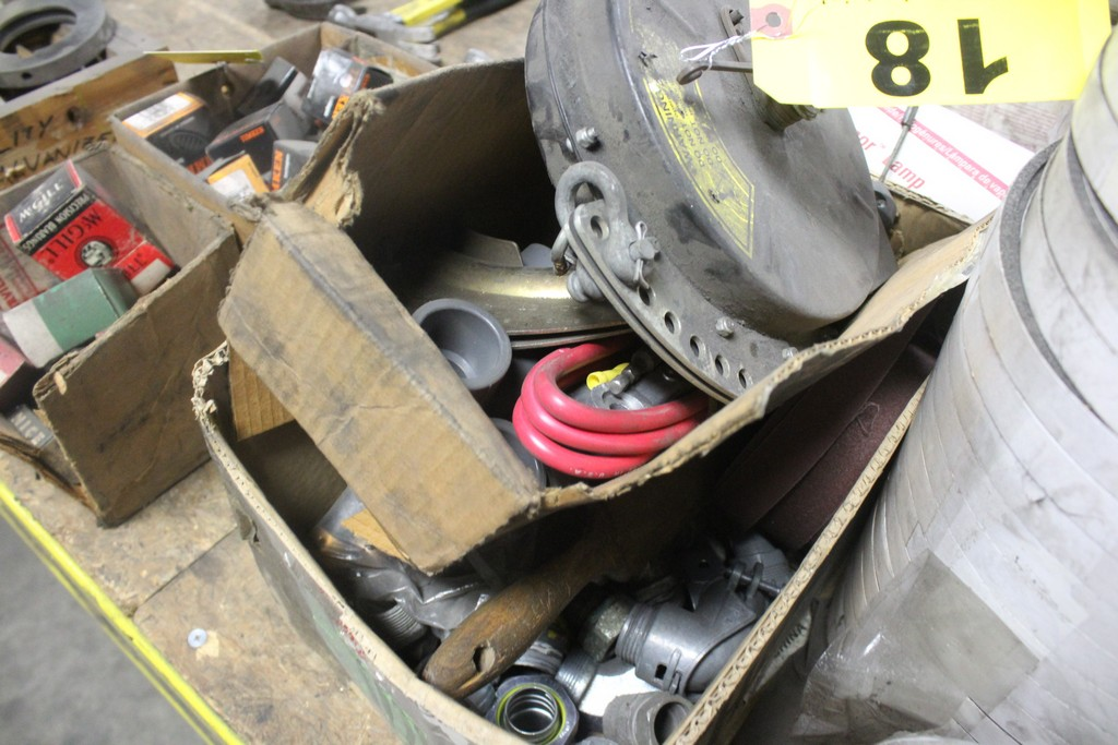 Lot: Miscellaneous: Electrical - Belts - Plumbing - Tape - Image 2 of 3
