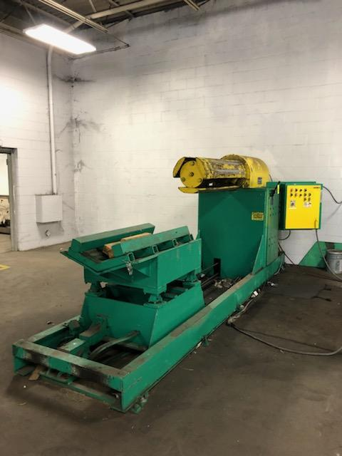 "Jay Bird Model GRM10-5060 Motorized Uncoiler, Serial Number: 12428 10,000 Lbs - 60"" Width x 48"" OD - - Image 4 of 10"