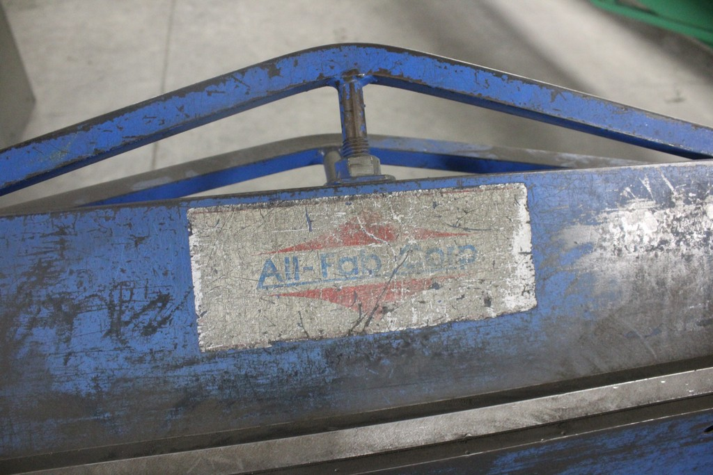 """All FAB 48"""" x 16 ga Sheet Metal Apron Brake - Image 2 of 4"""