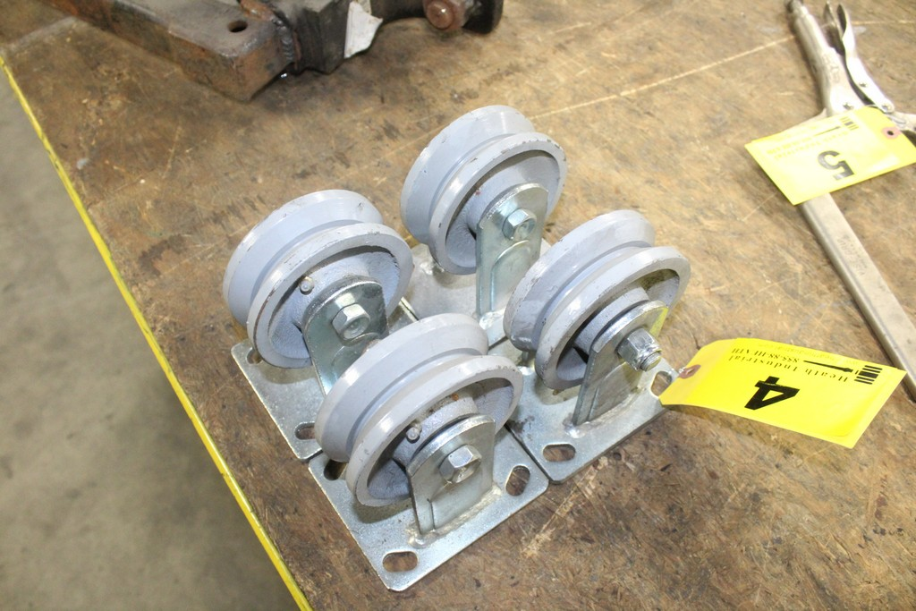 (4) Heavy Duty Casters