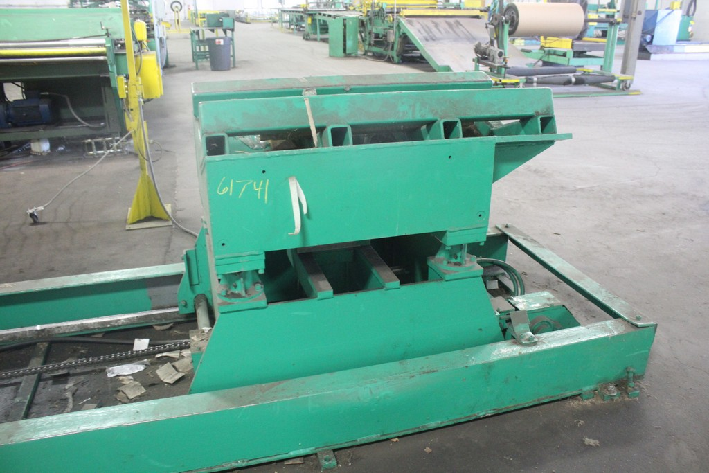 "Jay Bird Model GRM10-5060 Motorized Uncoiler, Serial Number: 12428 10,000 Lbs - 60"" Width x 48"" OD - - Image 9 of 10"