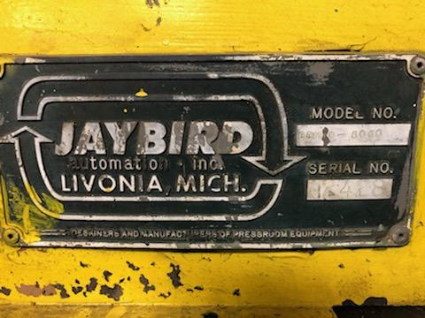 "Jay Bird Model GRM10-5060 Motorized Uncoiler, Serial Number: 12428 10,000 Lbs - 60"" Width x 48"" OD - - Image 7 of 10"