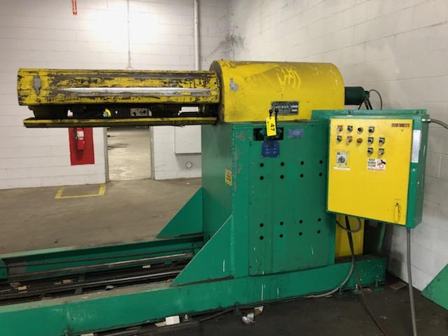 "Jay Bird Model GRM10-5060 Motorized Uncoiler, Serial Number: 12428 10,000 Lbs - 60"" Width x 48"" OD - - Image 3 of 10"