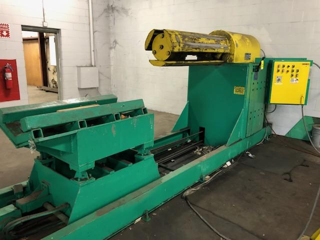 "Jay Bird Model GRM10-5060 Motorized Uncoiler, Serial Number: 12428 10,000 Lbs - 60"" Width x 48"" OD - - Image 2 of 10"